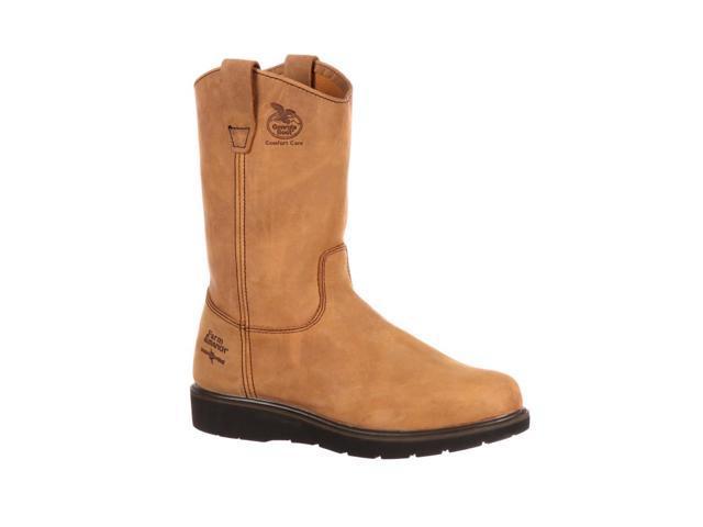 """Georgia Work Boots Mens 11"""" Farm N Ranch Comfort 14 W Brown G4432"""