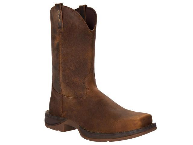 "Durango Western Boots Mens 11"" Rebel Pull Square 8.5 EE Brown DB5444"