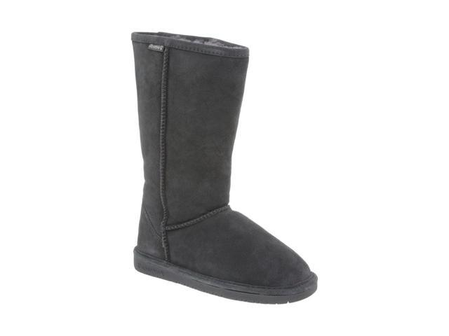 Bearpaw Boots Womens Emma Pull on Suede Wool 12 Charcoal 612W