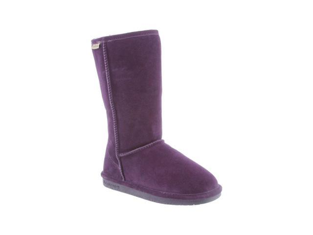 Bearpaw Boots Womens Emma Pull on Suede Wool 11 Deep Purple 612W