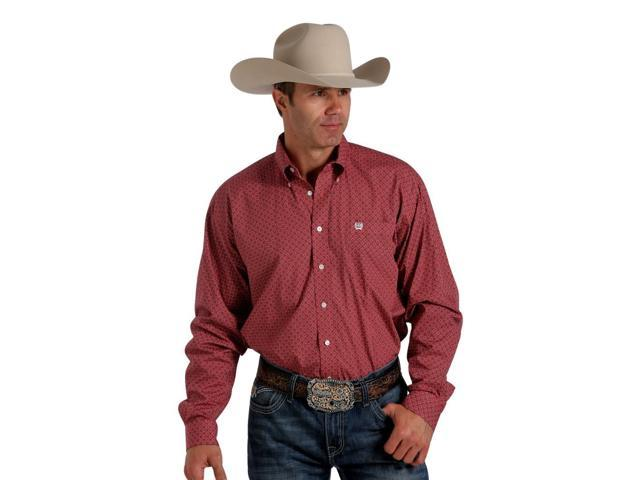 Cinch Western Shirt Mens Long Sleeve Floral Button Xl