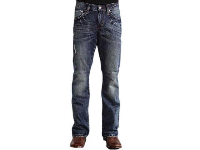 Stetson Western Denim Jeans Mens 30 x 36 Royal 11-004-1014-4010 BU ...