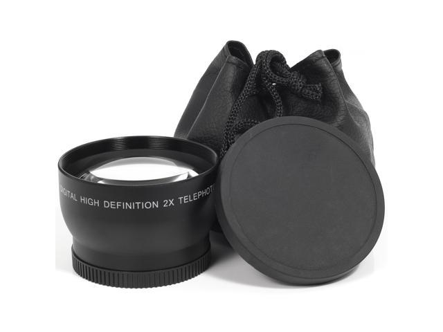 1x 52mm 2.0X Tele Lens For Nikon D5000 D3200 D3100 D3000 LF83-NE1