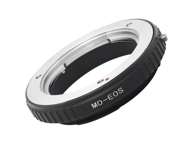 Xcsource® Metal Mount Lens Ring Adapter For Minolta MD MC Lens to Canon EOS EF Camera 1000D no glass DC163