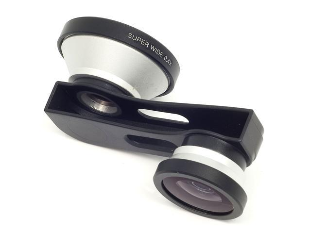 Super Wide Lens + Fish Eye Fisheye Lens + Micro Lens Kit for iPhone 5G 5 DC220-NE1