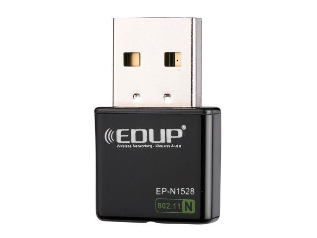 Wholesale 50 pcs of EDUP Mini 300Mbps Wireless WiFi USB Network 802.11n/g/b LAN Adapter Card CN80x50