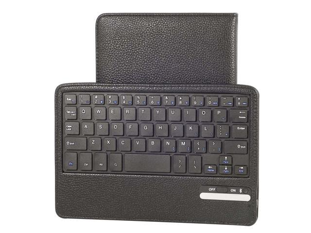 Leather Case And Removable Bluetooth Keyboard For Barnes Noble Nook HD 7 PC429