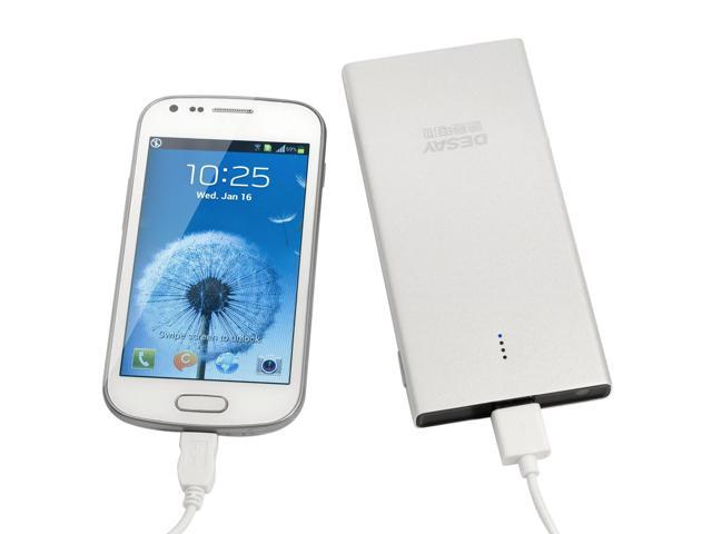 USB Rechargeable Aluminum External Battery Charger for iPhone 5 4S iPad 4 BC159