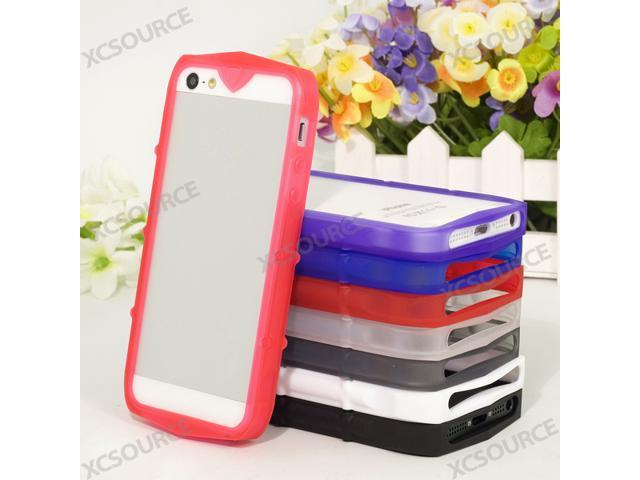 Brand New 8 color lot for Iphone 5 / 5G Silicone TPU Bumper Case Frame PC295-NE1
