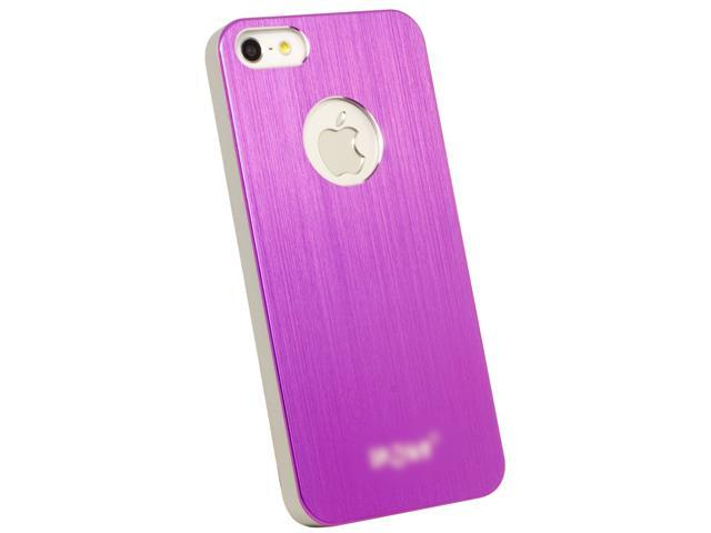Luxury Aluminum Metal Hard Skin Case Cover Protector for iPhone 5 Pink PC314R-NE1