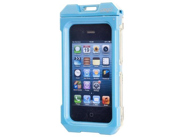 Water Dirt Snow Shock Proof Hard Protective Case For iPhone 4 4S Blue PC492L-NE1