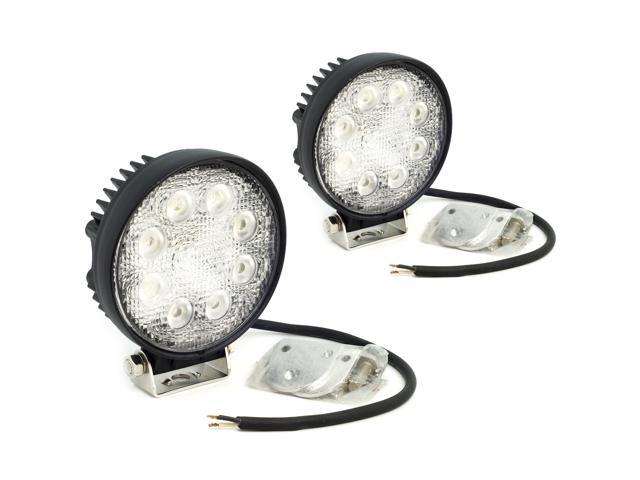 2PCS 12V 24V Flood Light 24W LED Work Light/Off road Light/Auto Boat Light LD77B-NE1