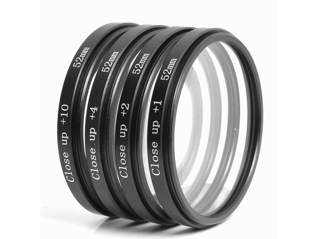 Essential Lens Filter Set 52mm for Nikon D7000 D5100 D3200 D3100 D3000 D90 LF131-NE1