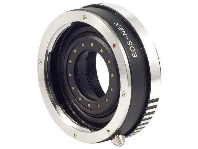 Build in Aperture Adapter for Canon EOS Lens to Sony NEX-5N NEX-7 NEX-VG10 DC177
