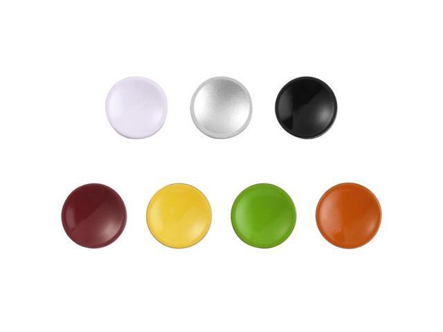 7pcs Colors Metal Shutter Release Button Concave For Canon Rollei Nikon DC324-NE1