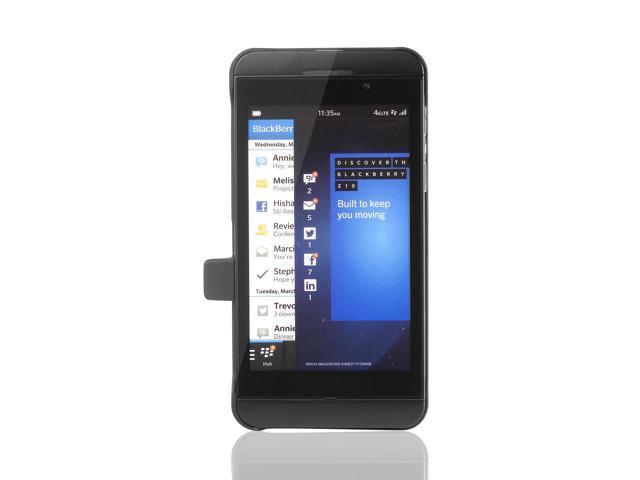 New Black External Backup Battery Charger Matte Case for Blackberry Z10 BC194B