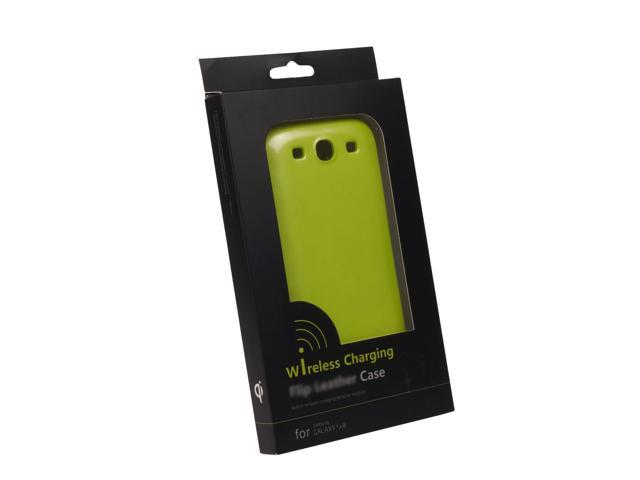 Fashion Green Wireless Qi Receiver Case Cover for Samsung Galaxy S3 i9300 BC218G