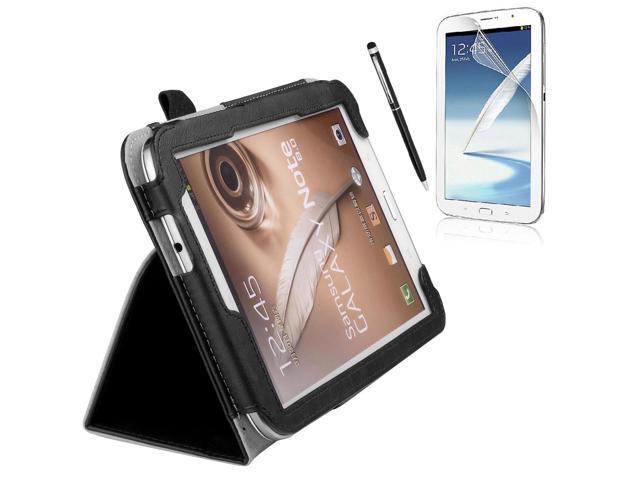 Black Case Cover Free Film Stylus For Samsung Galaxy Note 8.0 N5100 N5110 PC503B