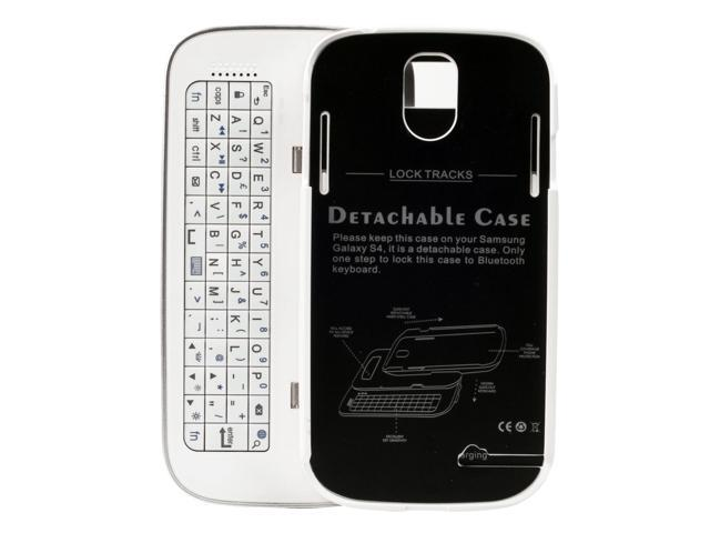 For Samsung Galaxy S4 IV i9500 /Wireless Bluetooth Keyboard Case Cover PC513W-NE1