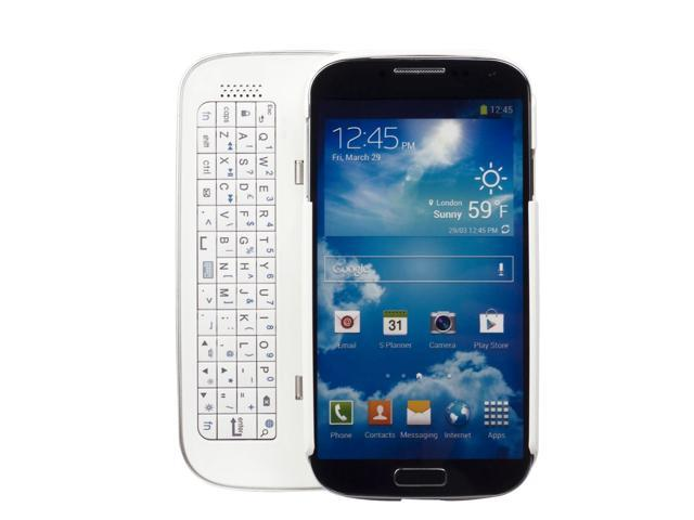 Wireless Bluetooth Keyboard Case Cover For Samsung Galaxy S4 IV i9500 PC513W