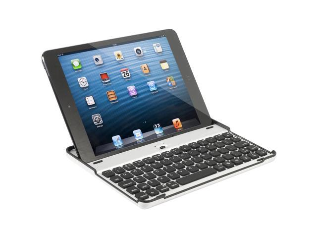 Bluetooth Keyboard Aluminum Shell Snap on Case Cover Stand For IPad Mini IP59
