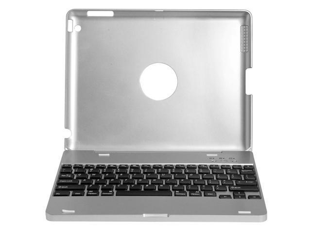 For iPad 2 3 4 Wireless Bluetooth Keyboard Laptop Case 4000mA Battery FILM IP81