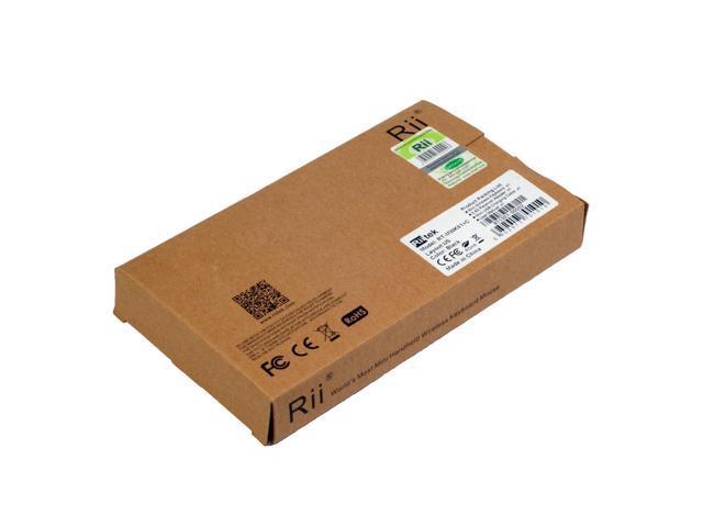 2-in-1 multimedia wireless keyboard Original Rii Mini Ultra-slim 2.4GHz Wireless Keyboard Touchpad Combo CN99-NE1