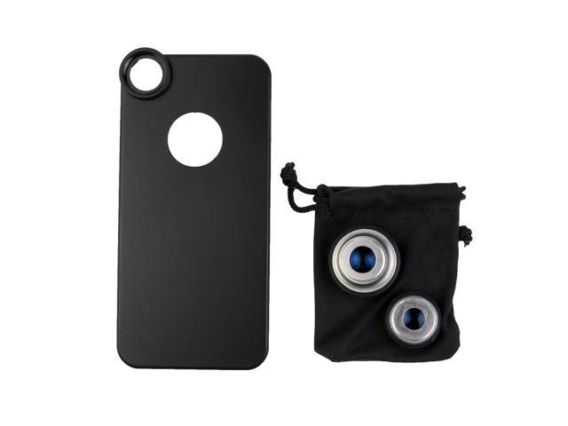 3in1 Fisheye Lens + Wide Angle + Micro Lens photo Kit Set for iPhone 5 DC393S