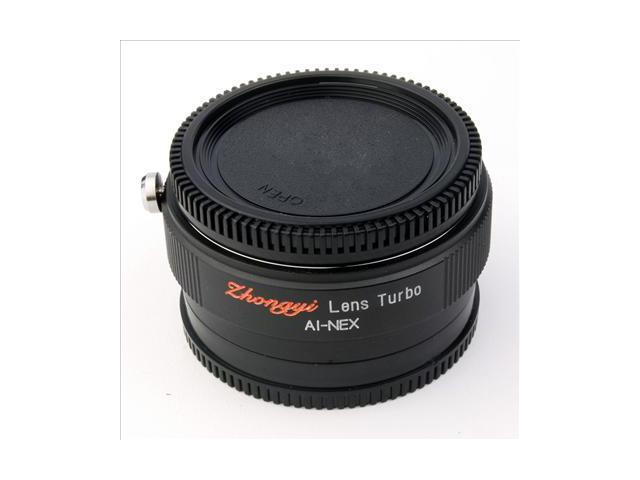 Focal Reducer Speed Booster Lens Turbo Adapter for Nikon AI to Sony NEX 5N DC410