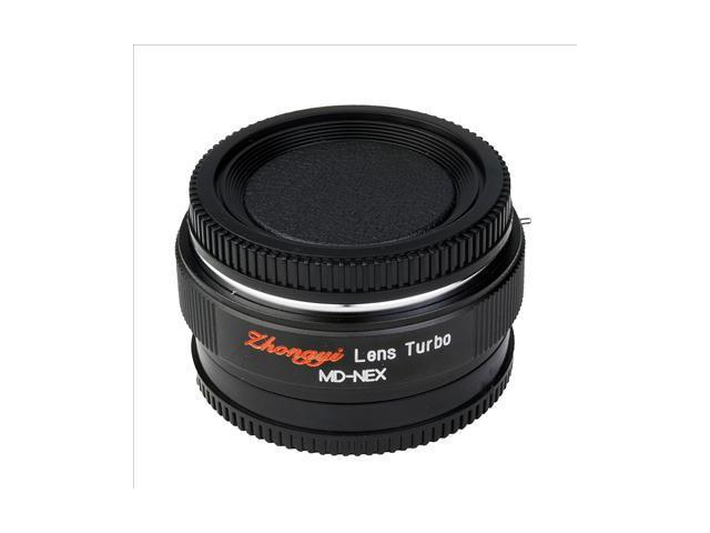 Focal Reducer Speed Booster Lens Turbo for Minolta MD MC to Sony NEX 5N 7 DC411