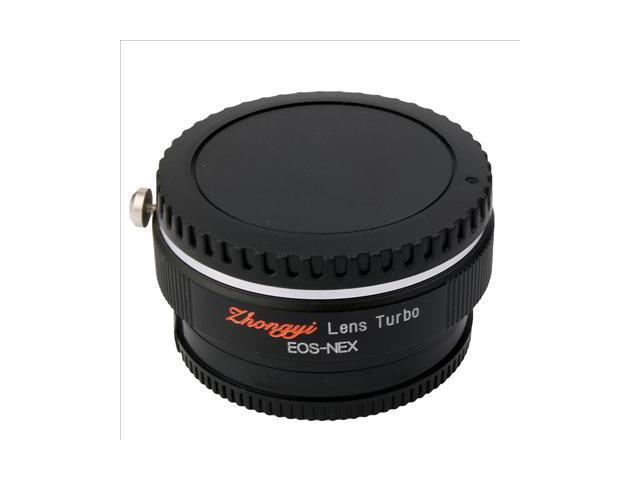 Focal Reducer Speed Booster Lens Turbo for Canon EF to Sony NEX 5N 5R Body DC413