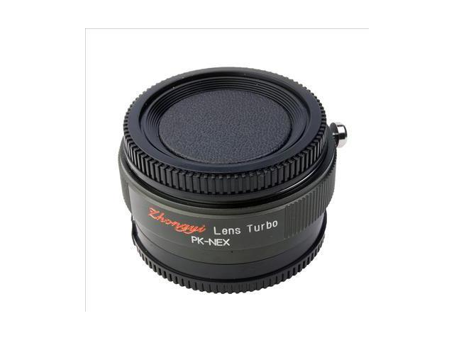 Focal Reducer Speed Booster Lens Turbo for Pentax K PK to Sony NEX 5N Body DC414