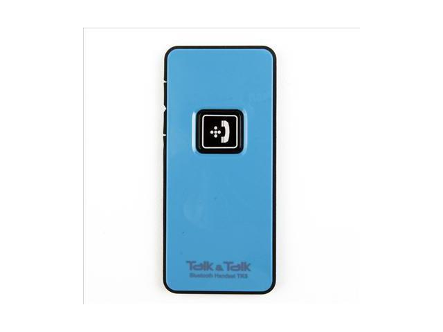 Blue Bluetooth Mini handset mic for Mobile cell phone iPhone HTC One X S V IP85L