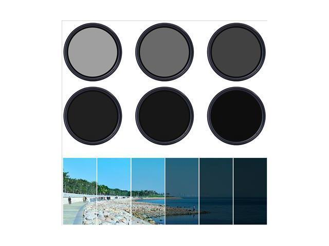 58mm Variable ND Filter Neutral Density Adjustable for Canon Nikon Pentax LF304