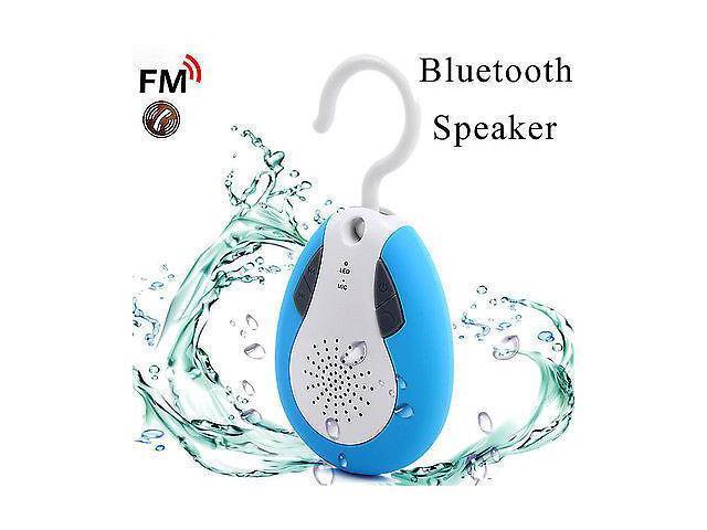 Waterproof Wireless Bluetooth FM Shower Speaker Phone Hands-Free Speaker IP110