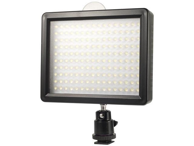 Xcsource® 160 LED Video Hot Shoe Lamp Light for Nikon D600 D7100 D7000 D5200 D5100 Canon 6D 7D 60D 600D 650D 1100D LF182-SZ