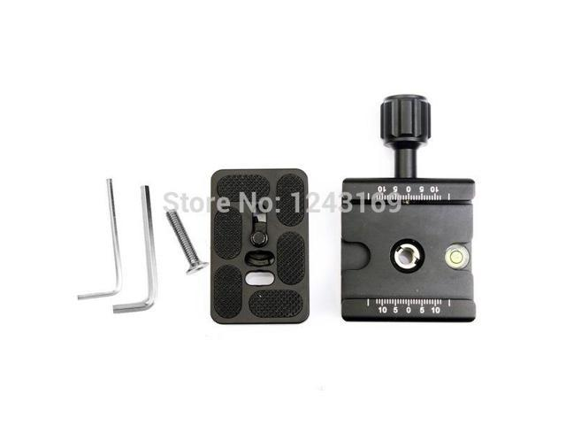 Xcsource® Quick Release Plate + Metal Clamp for Manfrotto Arca-Swiss Tripod BallHead DC417