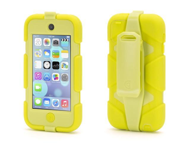 Griffin Citron Survivor All-Terrain Heavy Duty Case for iPod touch (5th/ 6th gen.)   Extreme-duty case