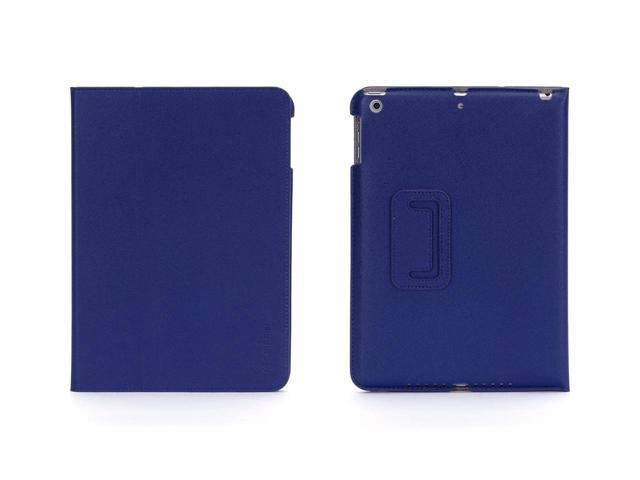 Griffin Blue Slim Protective Folio for iPad Air   Multi-position slim fold-over case