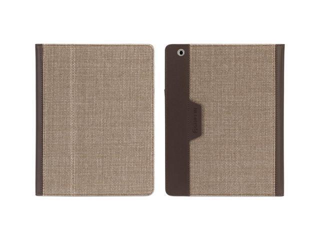 Cognac/Chocolate Folio Case for iPad 2, iPad 3, and iPad (4th gen),Multiposition folio case