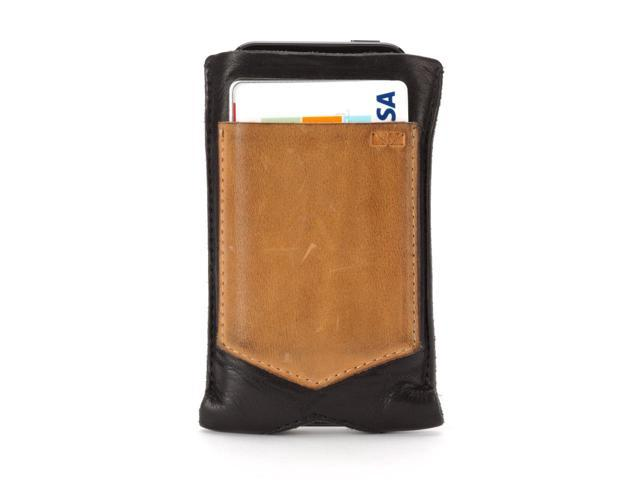 Griffin Beamhaus Leather Pocket for iPhone 5/5s   Timeless designs using traditional materials