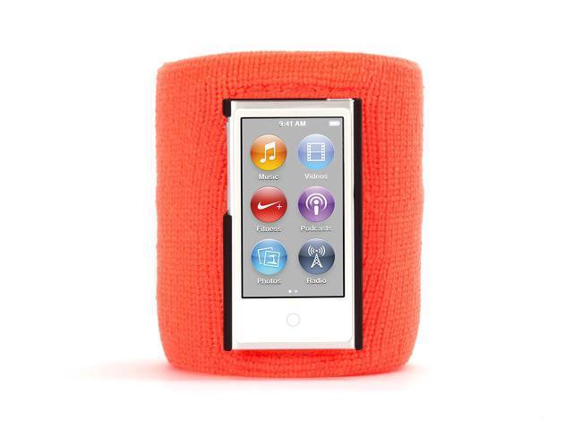 Griffin Orange SportCuff Wristband case for iPod nano (7th gen.)   Absorbent wristband for iPod nano (7th gen.)