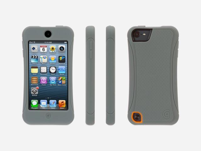 Griffin Survivor Slim for iPod touch (5th gen.), grey   Mil-Spec Rugged Case Slimmed Down for the Street