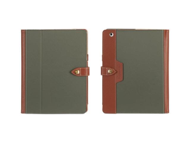 Griffin Olive/Brown Folio Case for iPad 2, iPad 3, and iPad (4th gen)   Multiposition folio case