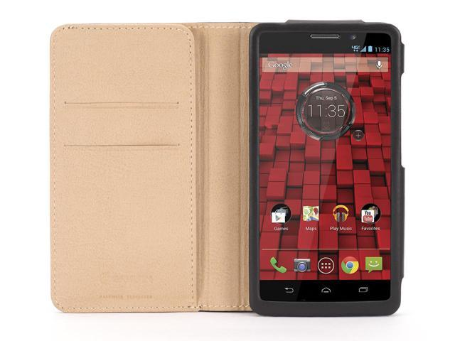 Griffin Midtown Wallet for Motorola Droid Maxx   Sophisticated leather functionality
