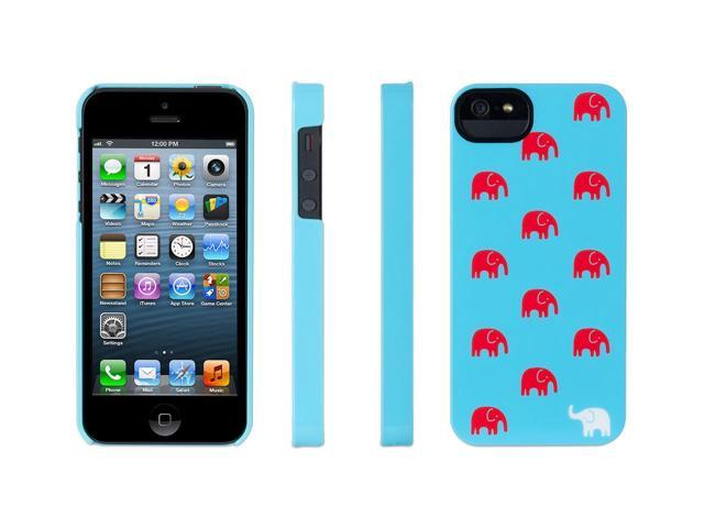 Griffin Turquoise Elephant Hard Shell Case for iPhone 5   Hard shell case for iPhone