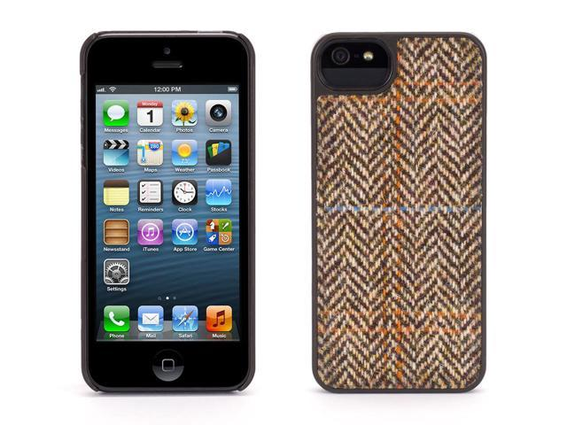 Griffin Brown Harris Tweed Herringbone Case for iPhone 5/5s, iPhone SE   Genuine Harris Tweed on a protective fashion case