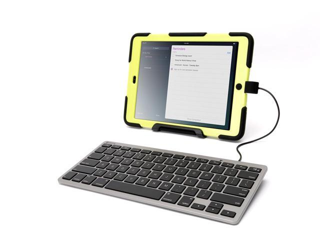 Wired Keyboard for iOS Devices, Lightning Connector,A real keyboard for your iPhone, iPad, or iPod touch