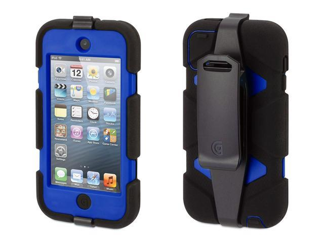 Griffin Black/Blue Survivor All-Terrain Case + Belt Clip for iPod touch (5th/ 6th gen.)   Extreme-duty case