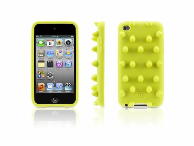 Green Funky Touch Protective Case for iPod Touch (4th Gen.),Funky bumpy case for iPod touch (4th gen.)